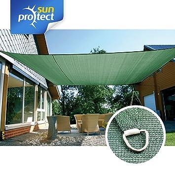 sunprotect 83245 professional toldo vela de sombra 6 x 4 m rectangular