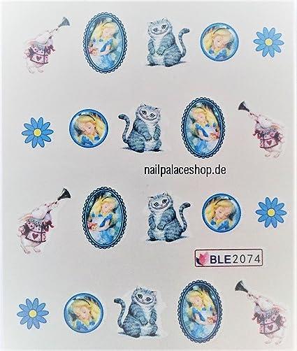 Dibujos animados Print Diseño - 2 Unidades - Clavo Sticker dibujos ...