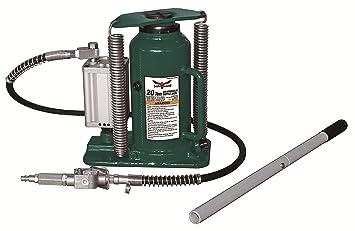 Strong Hold 61206 - Gato hidráulico para botella (20 toneladas), color verde: Amazon.es: Bricolaje y herramientas