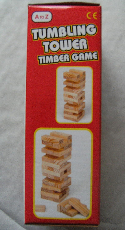 Madera Agitación Torre Juego [Juguete]: Amazon.es: Juguetes y juegos