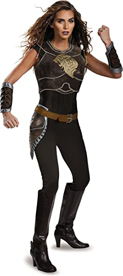 Amazon Com Disguise Women S Warcraft Garona Deluxe Costume Clothing