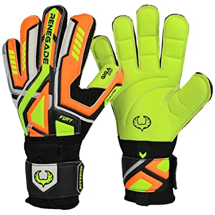 Buy R- GK Fury Volt Soccer Goalkeeper Gloves Flat Gecko Cut (Size 11 ... 0fb8b1c805