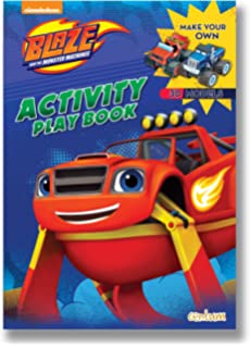 Blaze Press Out Play Activity Book The Monster Machines