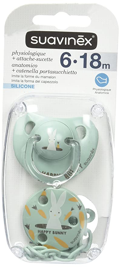 Suavinex - Chupete con tetina de ortodoncia, diseño de ...