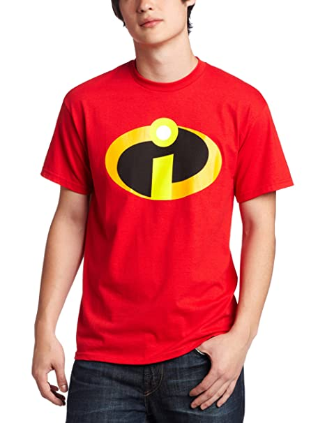 Amazon.com  Disney Men s The Incredibles T-Shirt  Clothing 0250b9874c327