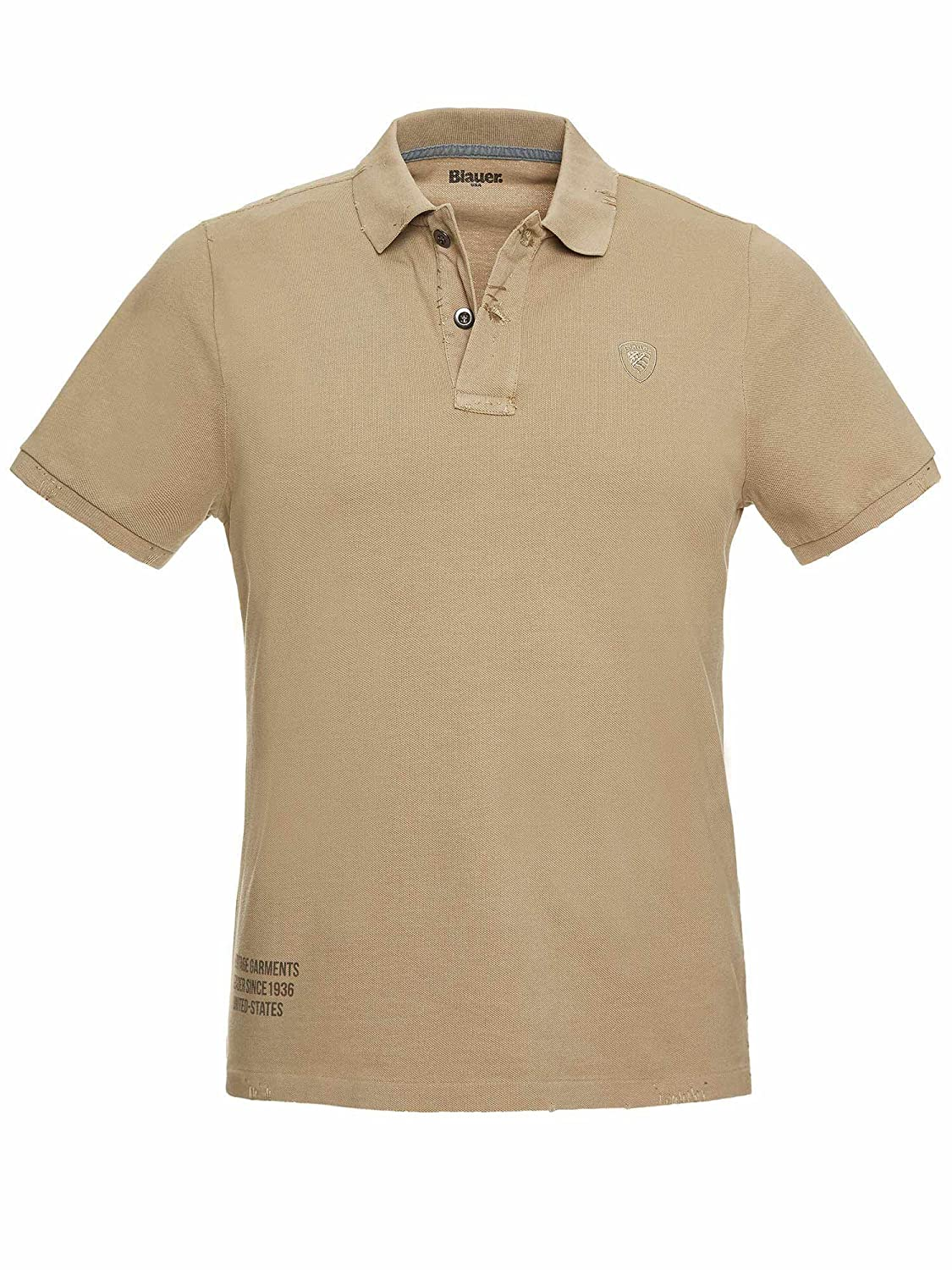 Blauer Polo USA Uomo BLUT02002 Nocciola 3XL: Amazon.es: Ropa y ...