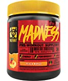 Mutant Madness Ultra Concentrated PreWorkout, 375g, Peach Mango