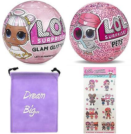 Amazon Com Lol Surprise Dolls Gift Bundle Includes 1 Limited