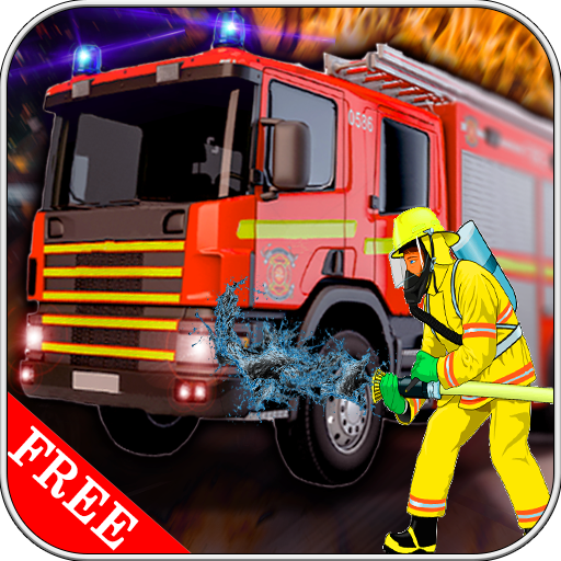 911 Emergency Fire Fighter Truck Simulator