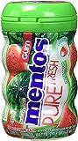 Mentos Gum Mentos Pure Fresh Sugar-Free Chewing Gum, Watermelon, 50 Piece Bottle
