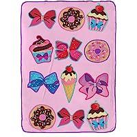 Nickelodeon JoJo Siwa Follow Your Dreams Plush Twin Blanket