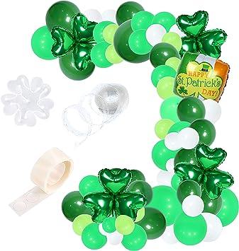 Patricks Day Pot of Gold Foil Helium Balloon Irish Party Decoration Happy St