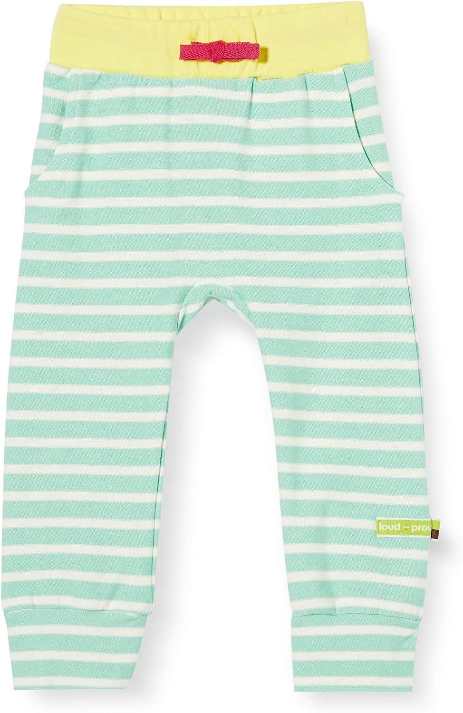 proud M/ädchen Striped Pant Organic Cotton Hose loud