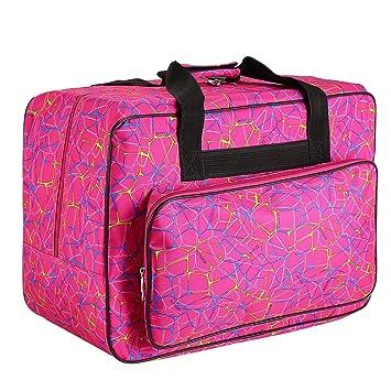 Amazon.com: Bolsa de transporte para máquina de coser, funda ...