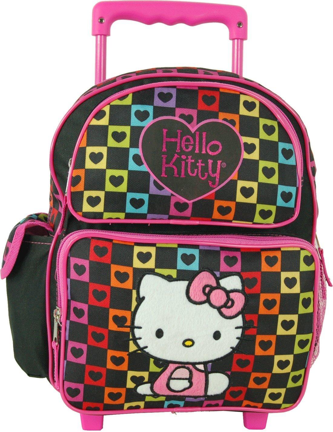 [ファブ]FAB Hello Kitty Toddler 12 Rolling Backpack LYSB009W97YVI-TOYS [並行輸入品]   B009W97YVI