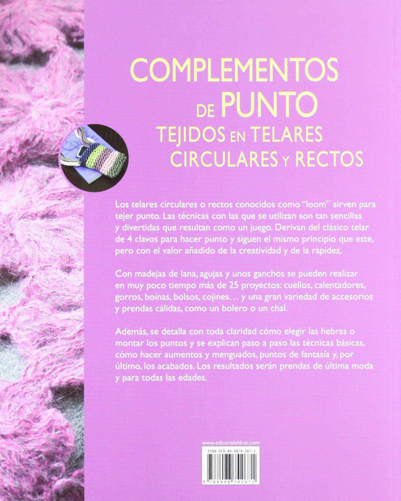 Complementos de punto tejido en telares circulares y rectos (Spanish Edition): Tine Tara: 9788498742671: Amazon.com: Books