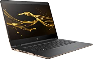 "HP Spectre x360 2-in-1 15.6"" 4K Ultra HD TouchScreen Laptop (8th Gen Intel Ice Lake i7-8550U 16GB Ram 512GB SSD NVIDIA MX150 Thunderbolt Win 10 Dark Ash Silver)"