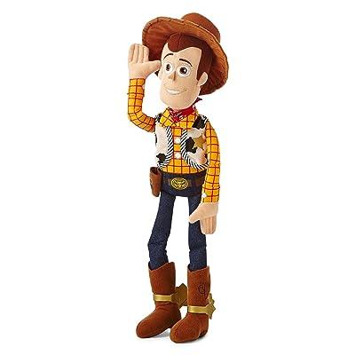 Toy Story Disney Woody Medium Plush, Multi: Toys & Games