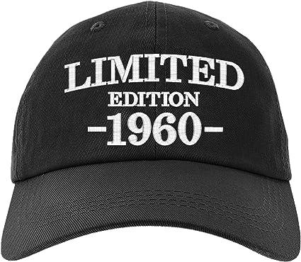Amazon.com: Gorra de 60 cumpleaños de regalo, edición ...