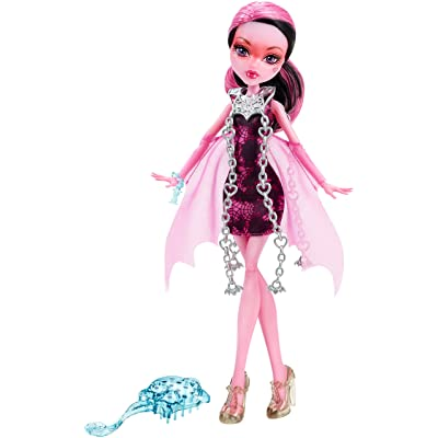 Monster High Haunted Getting Ghostly Draculaura Doll: Toys & Games
