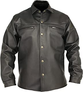 product image for Men's Horsehide Leather Shirt