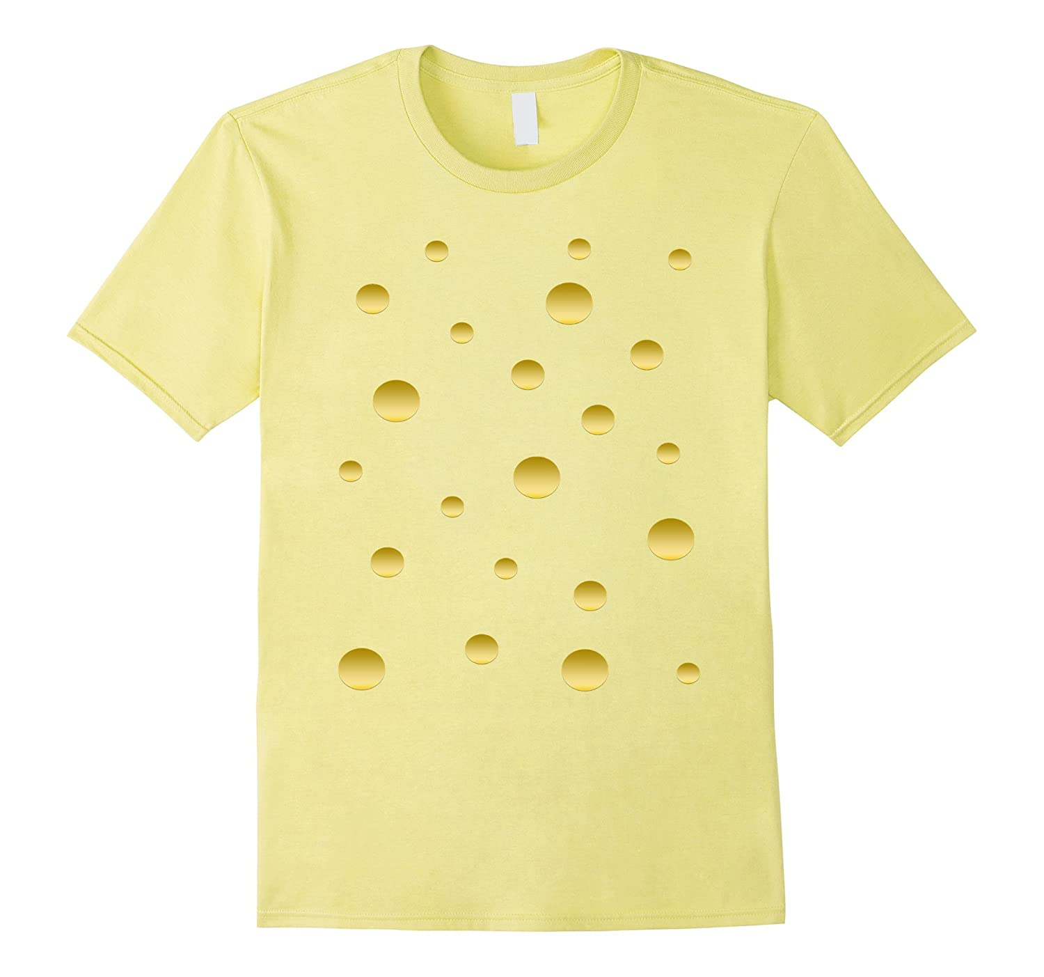 Matching Couples Halloween Cheese Costume Shirt-FL