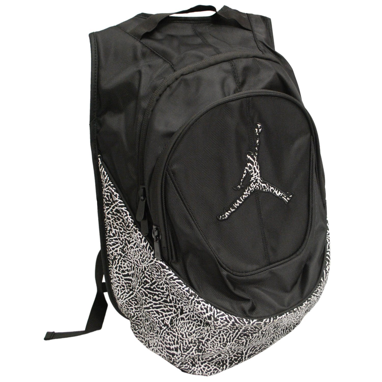 af2f86c18cab8e Amazon.com  Nike Air Jordan Jumpman Backpack - Cement Elephant Print ...