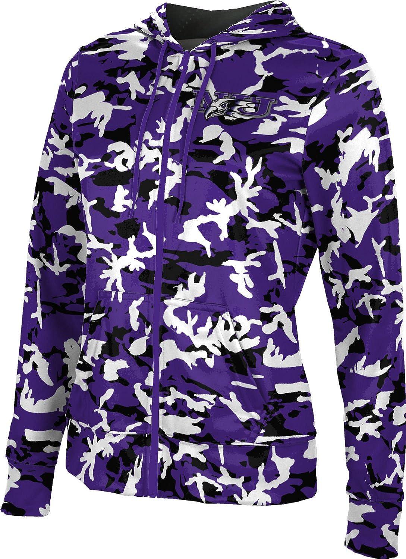 Digi Camo ProSphere Niagara University Girls Zipper Hoodie School Spirit Sweatshirt
