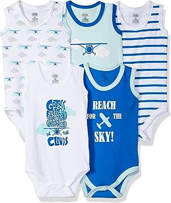 Luvable Friends Unisex Baby Cotton Sleeveless Bodysuits