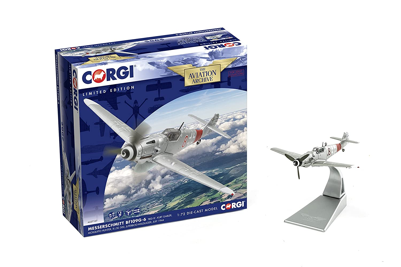 Corgi AA27107 Messerschmitt BF109G-6 Kurt Gabler JG300 'Red 8'