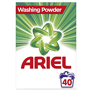 Ariel Washing Powder Original, Gives You Outstanding Stain Removal in The  First Wash, 2 6 kg, 40 Washes
