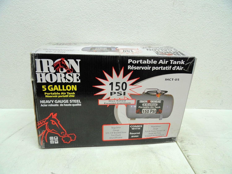 Iron Horse IHCT-05 5-Gallon 150 PSI Max Portable Air Tank by IronHorse Bicycles  B0048PLRXC