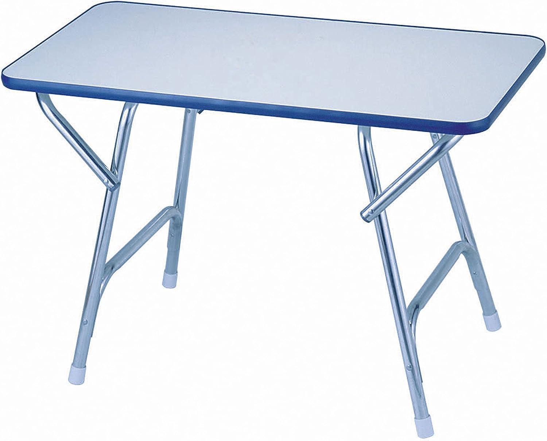 Garelick//EEz-In Folding Deck Table Melamine Top Series 16 x 24 x 16