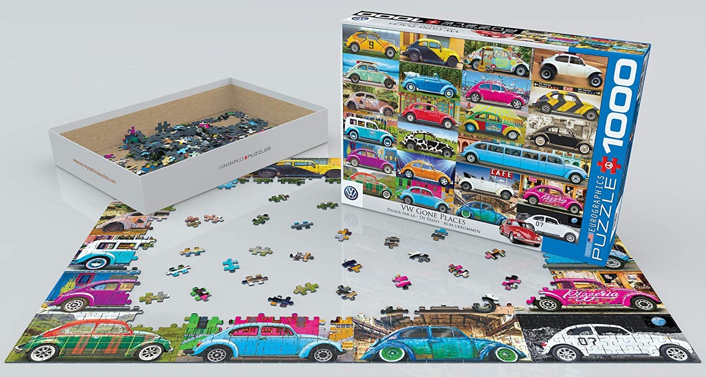 EuroGraphics Puzzle VW K/äfer Rumgekommen