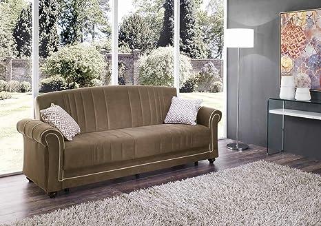 Caesar divano 3 posti prontoletto con contenitore classico