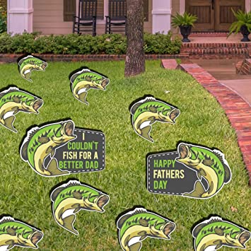 Amazon Com Victorystore Yard Sign Outdoor Lawn Decorations Fathers