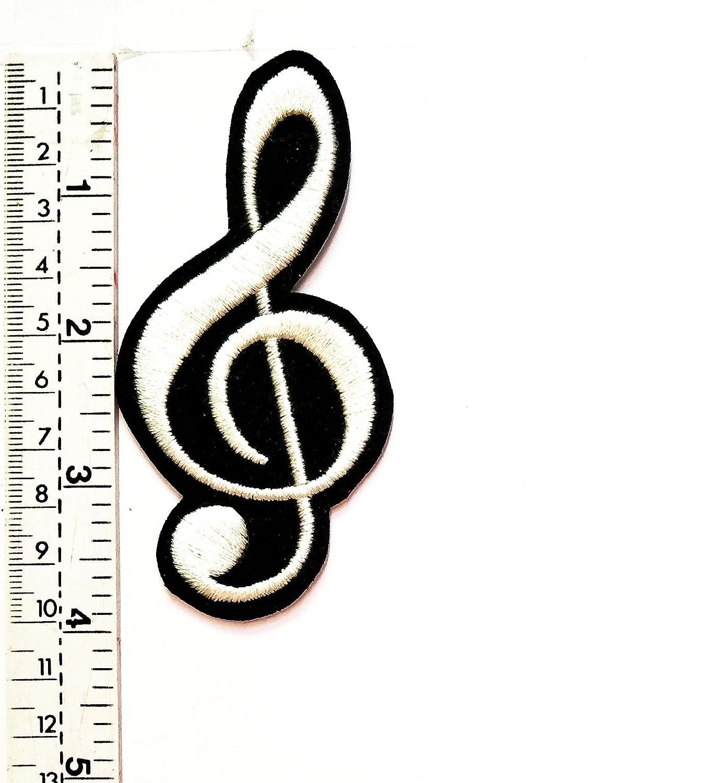 Chaleco blanco con símbolo de nota musical para niños, estudiantes ...