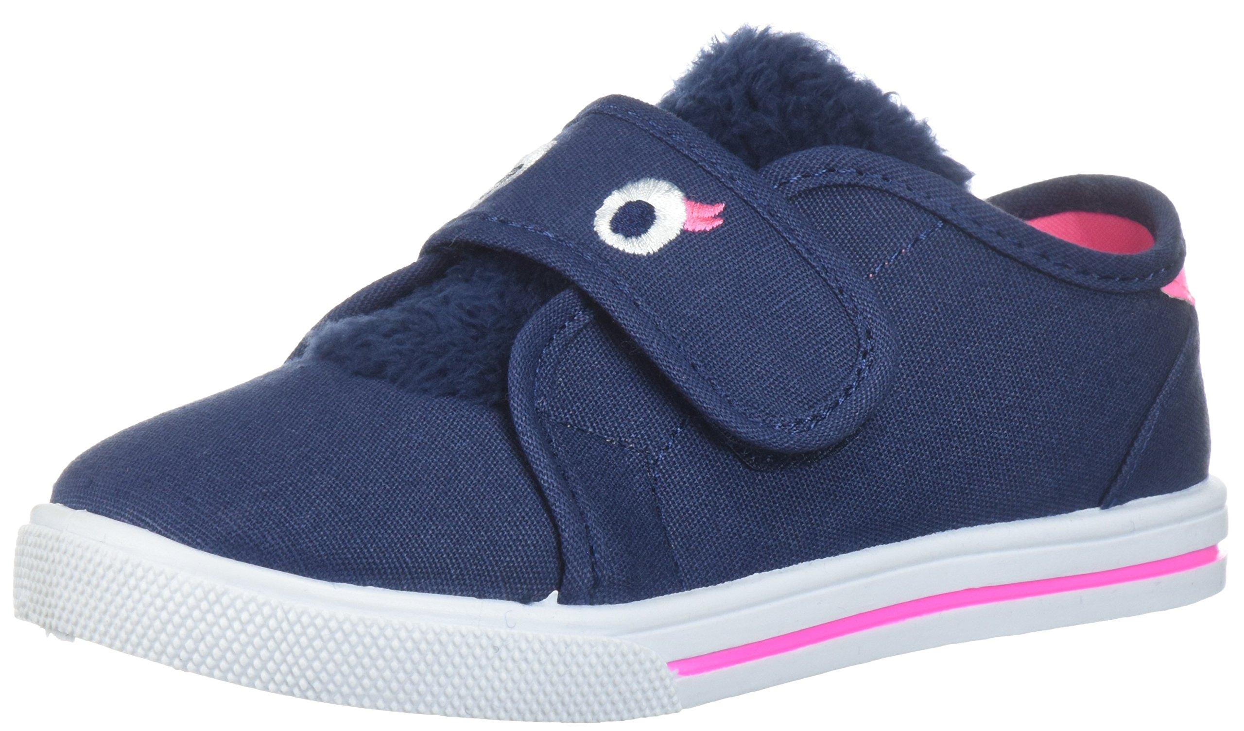 Carter's Unisex-Kids Arya Boy's and Girl's Novelty Slip-on Sneaker, Navy_410, 11 M US Little Kid