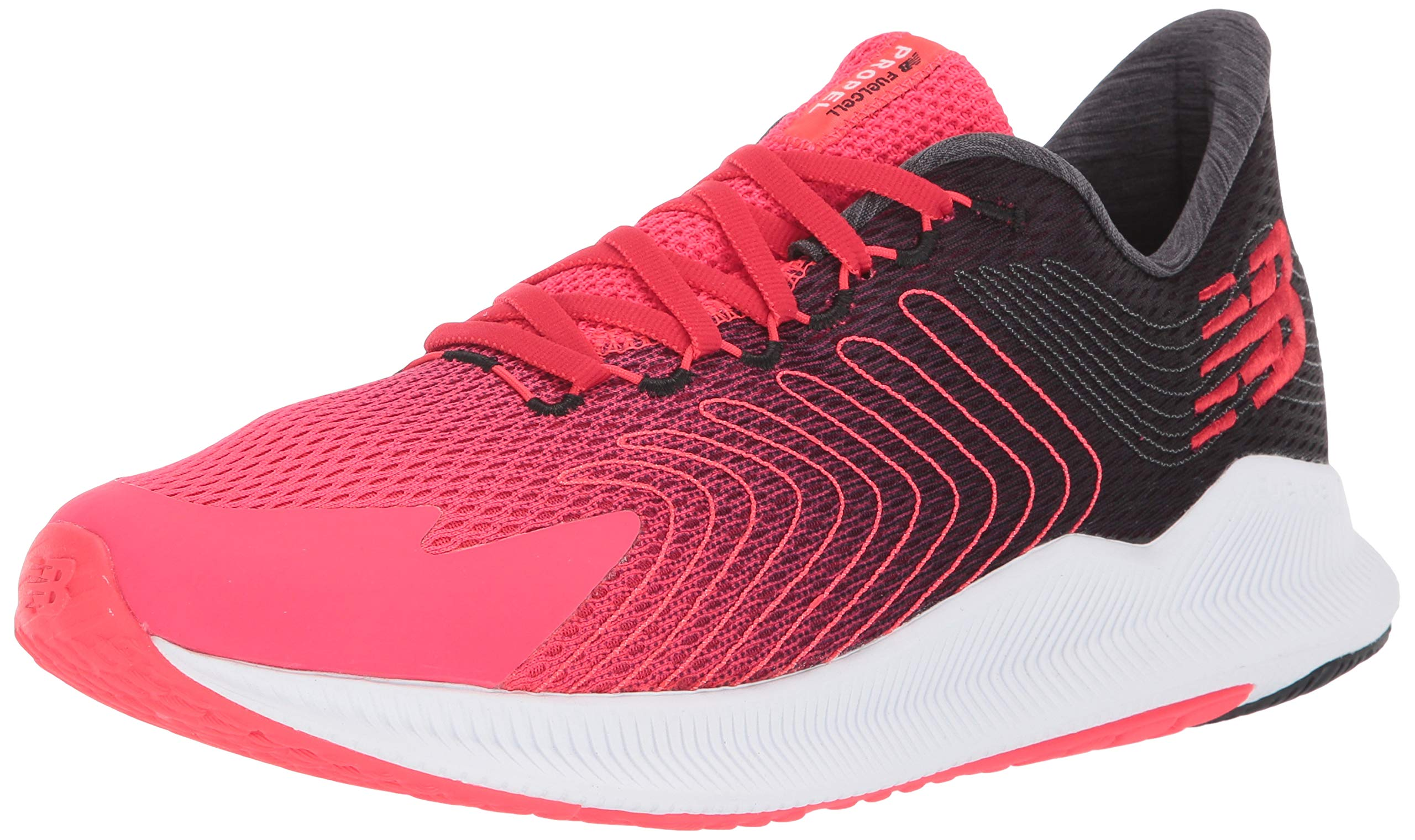 New Balance Men's Propel V1 FuelCell Running Shoe, Energy RED/Peony, 8 D US by New Balance