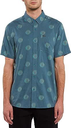 Volcom Men's Inner Valley Short Sleeve Button Down Shirt