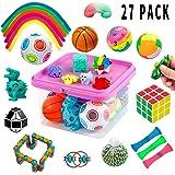 Fidget Toys Set, Fidget Sensory Toys Bundle for Kids Autism, ADHD, Adults Anxiety Stress Relief Kit with Stress Balls…