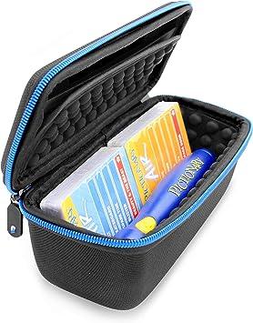 CASEMATIX - Estuche organizador de viaje para bolígrafo de aire pictionary y mazos de juegos de cartas, incluye solo la funda: Amazon.es: Juguetes y juegos