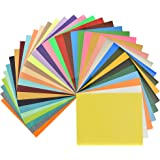 35 Colors Fame Crafts Heat Transfer Vinyl Assorted Color Transfer Sheets Iron On HTV Vinyl for Silhouette Cameo, Cricut, 12x10 - Inches,Pack of 35 Sheets