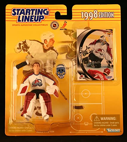 Starting Lineup 1998 PATRICK ROY NHL Colorado Avalanche