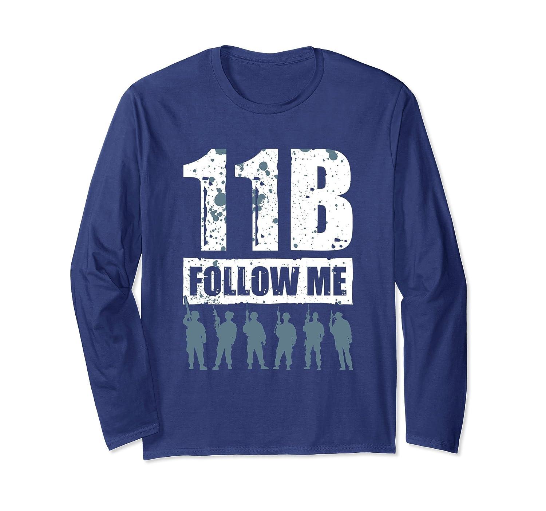 11 Bravo Follow Me Infantry T Shirt 21610-alottee gift