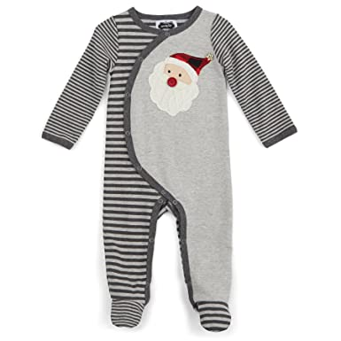 21c5aa069 Amazon.com  Mud Pie Baby Holiday Footed One Piece Sleeper