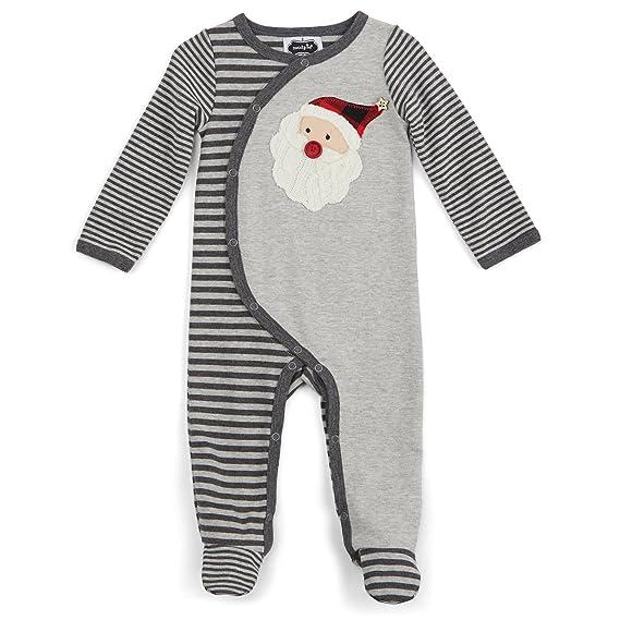 f715bbc468b0 Amazon.com  Mud Pie Baby Holiday Footed Sleeper  Clothing