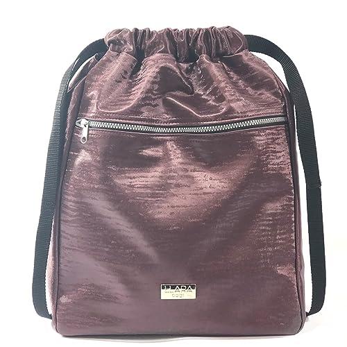LLARA bags BOLSO MOCHILA POLIPIEL BURDEOS- BOLSO MUJER ESTILO CASUAL 43X33X12 cm: Amazon.es: Zapatos y complementos