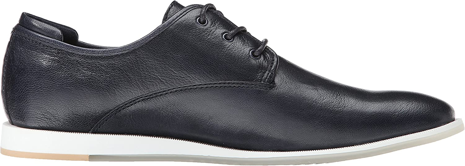 CK Jeans Mens Darian Leather Fashion Sneaker