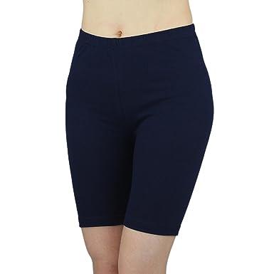 70e5b89935bcf4 Pantalon de Cyclisme Shorts de Sport Leggings en coton pantalons courts  au-dessus du genou pour Dames
